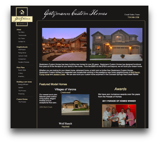 marketing for home builders before website